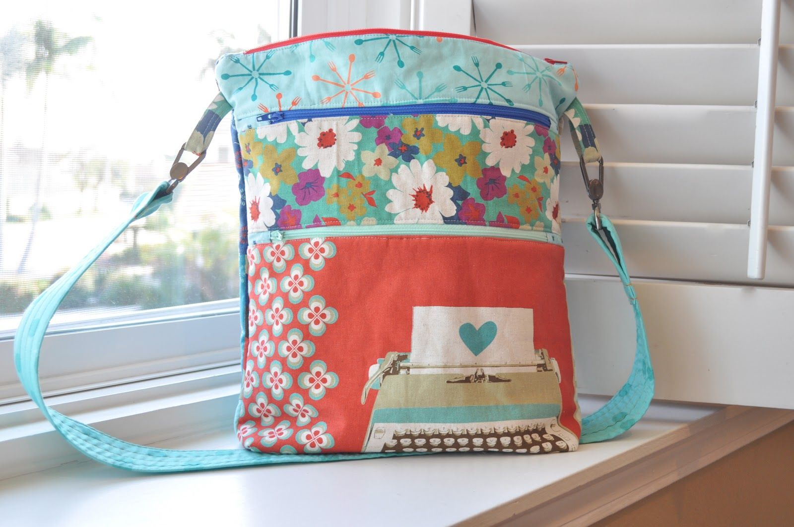 Zipper Crossbody Bag Tutorial 70