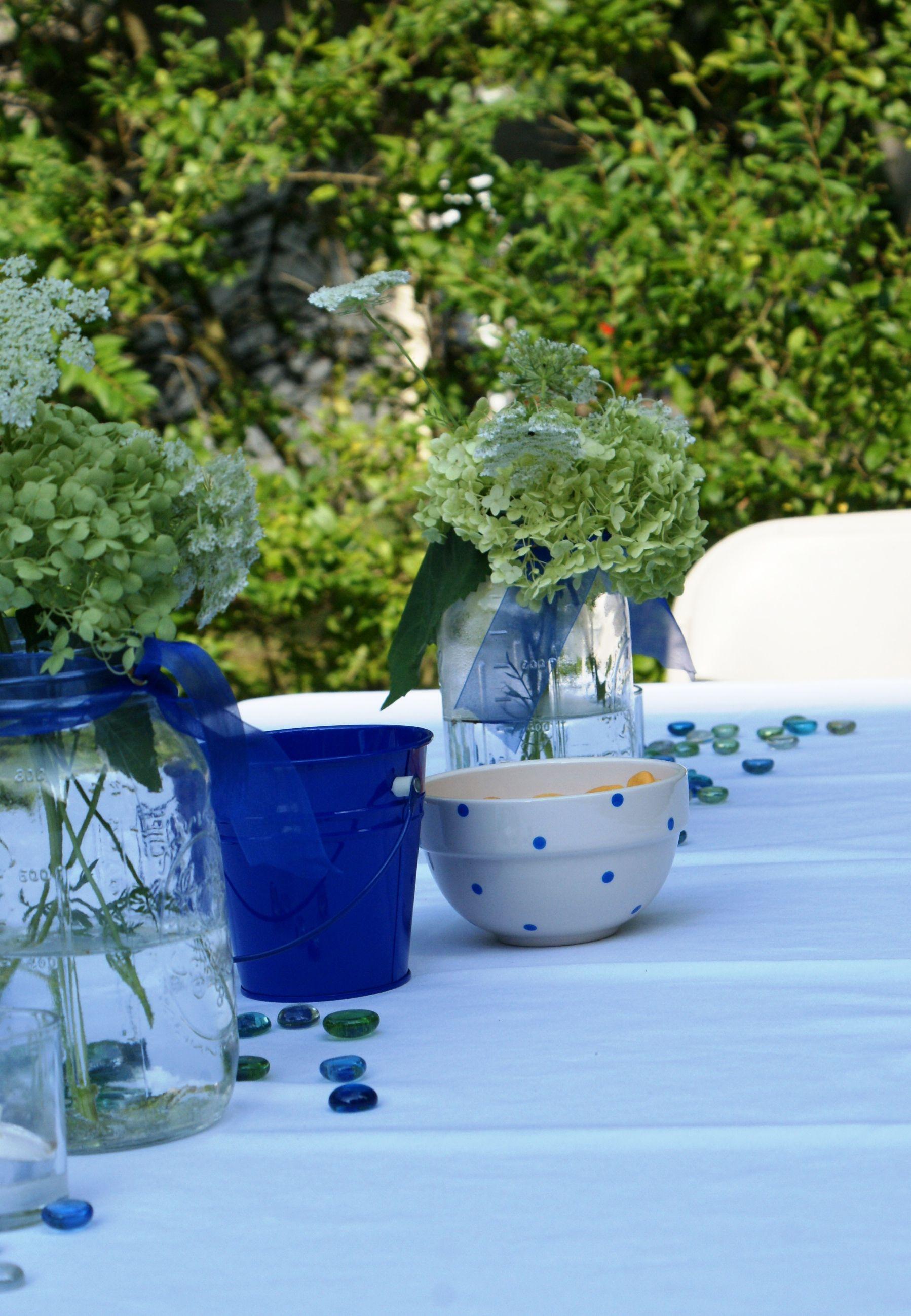 Graduation party table decorations home pinterest - Pinterest deco table ...