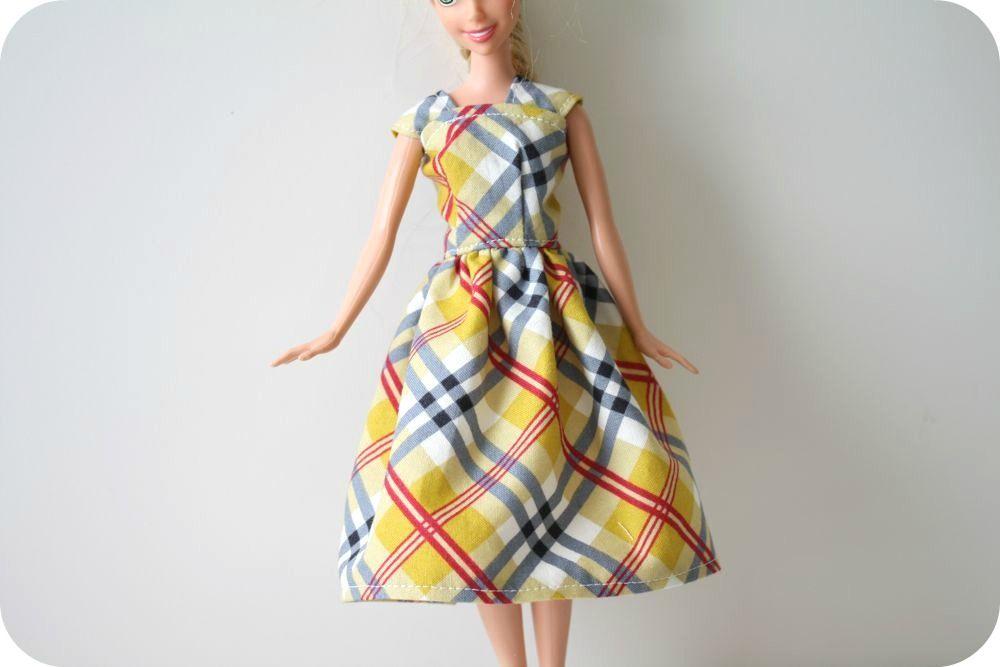 Как сшить наряд для куклы барби своими руками