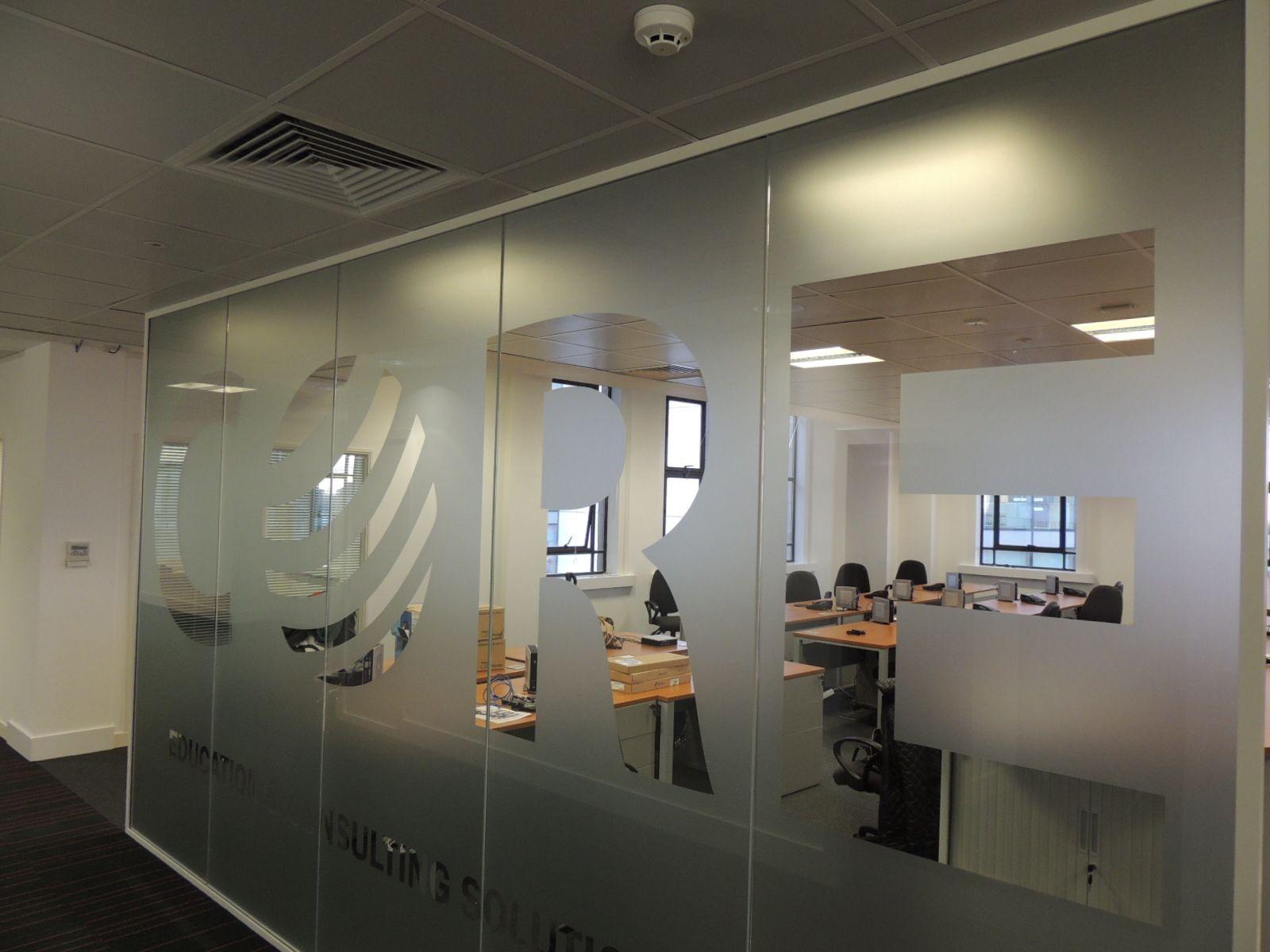 glass office room divider vinilos decorativos fotomurales pinte