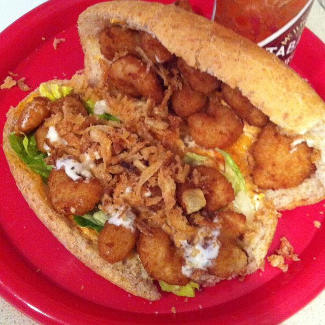 Shrimp po'boys | For Brad | Pinterest