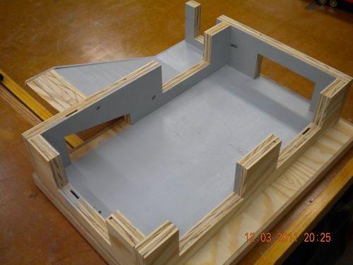 Build Wooden Toy Garage