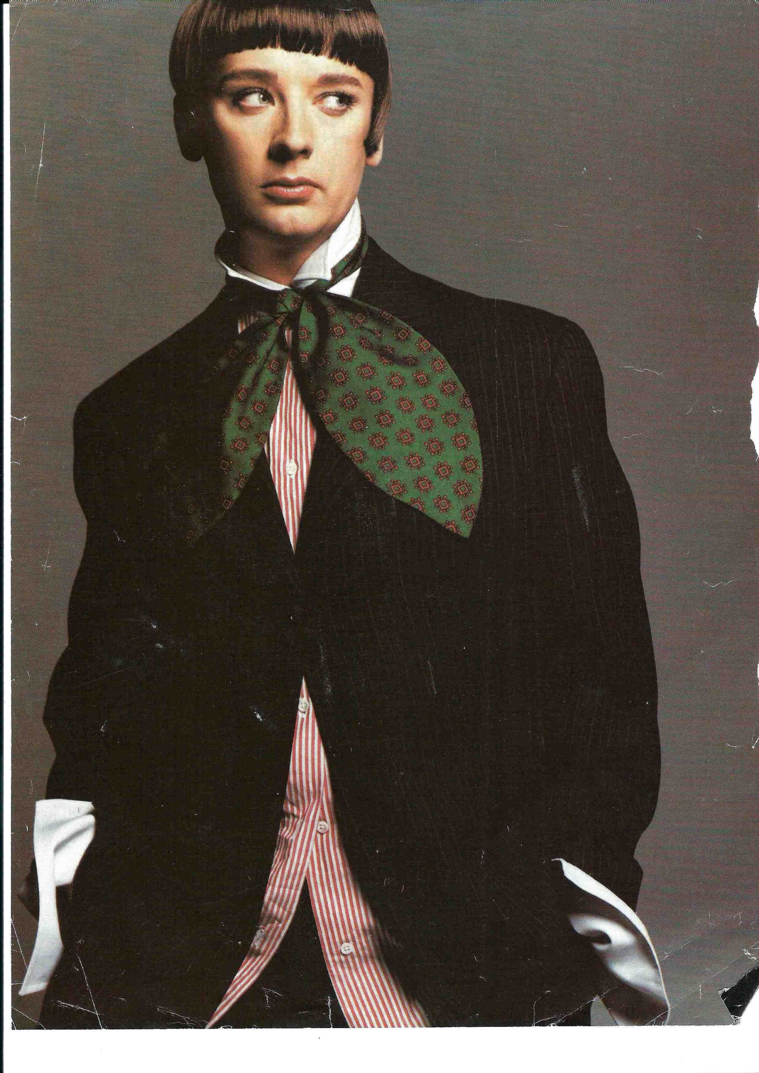Boy George Fashion Shoot In Paris The Style Pinterest
