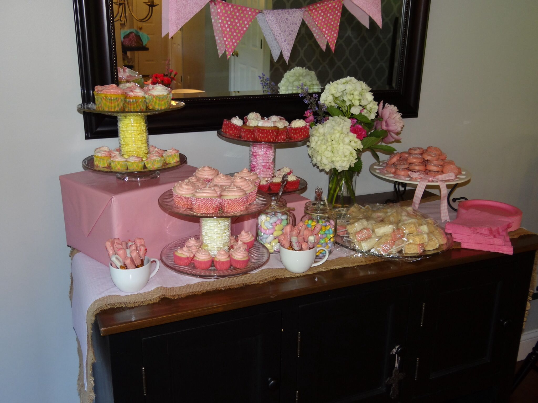 sweet table baby shower ideas pinterest