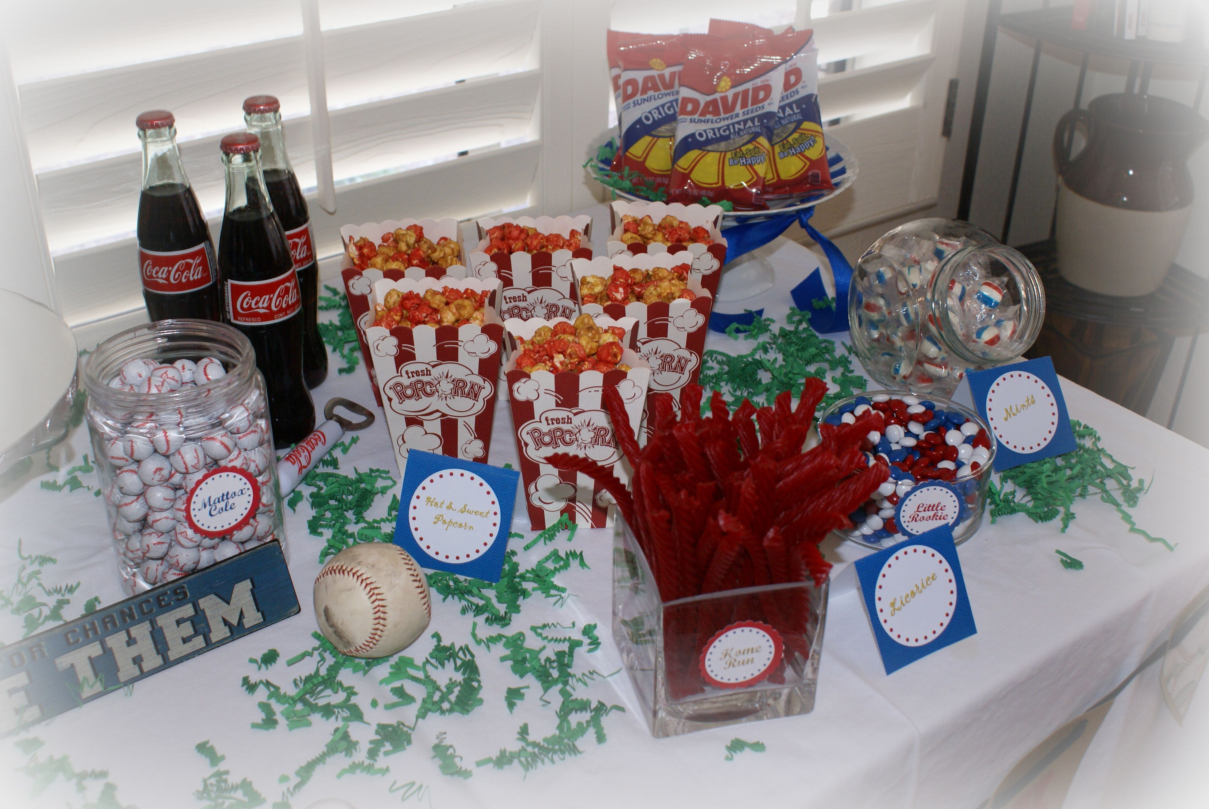 baseball baby shower parties pinterest