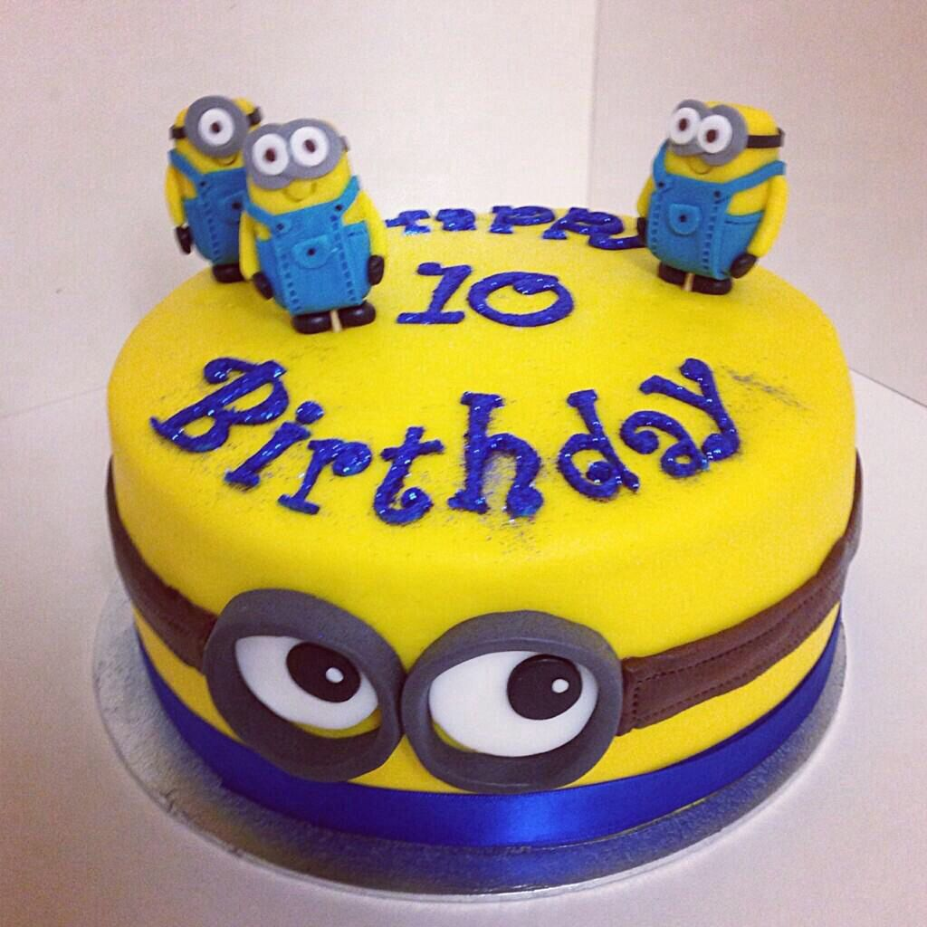 Minions cake despicable me Baking Pinterest