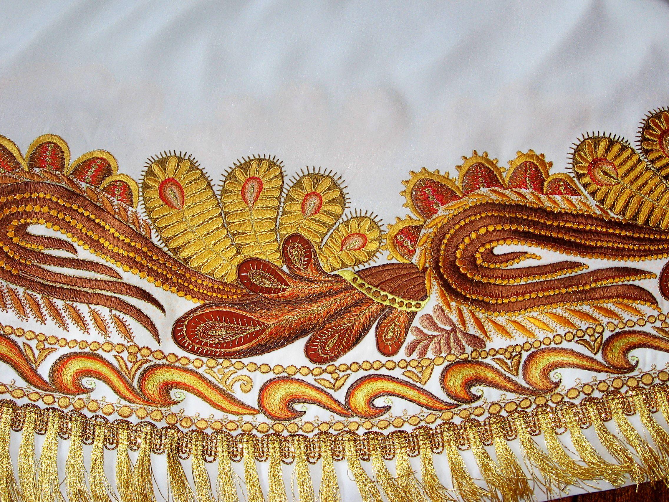 Вышивка в свободно -ходовой технике, new:вышивка на трикотаже, как? Форум 1