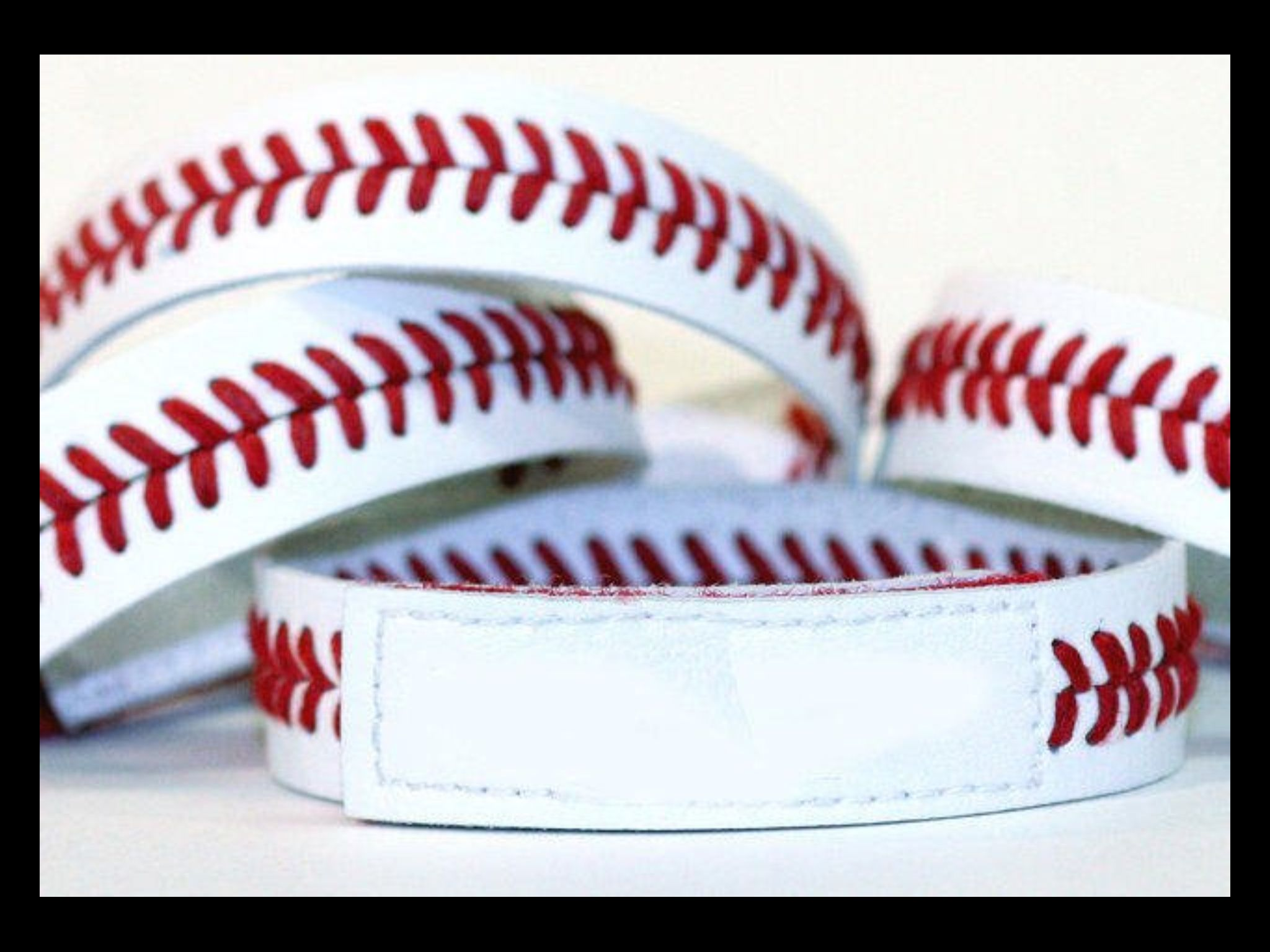 diy baseball bracelets craft ideas