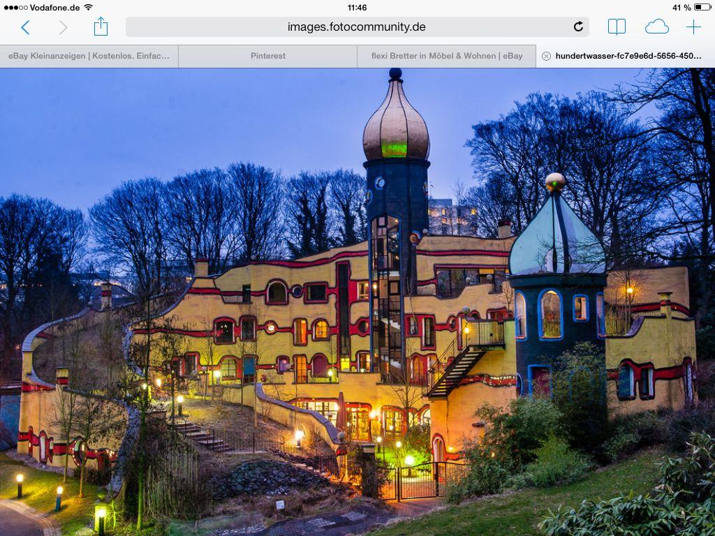 Hundertwasser hundertwasser architecture art pinterest for Architecture hundertwasser