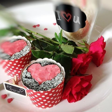 Valentinstag Ideen aus Deutschland | Valentinstags-Cupcakes mit ...