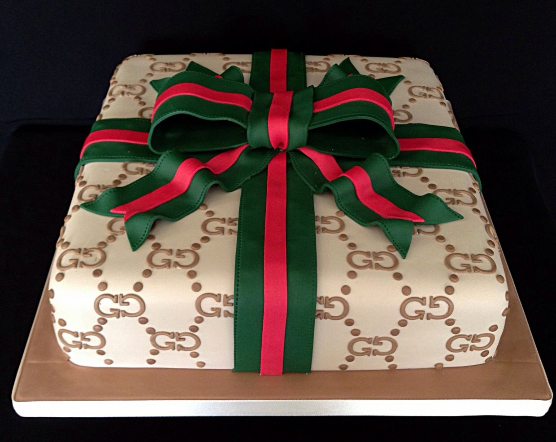 Gucci Birthday Cake For Men