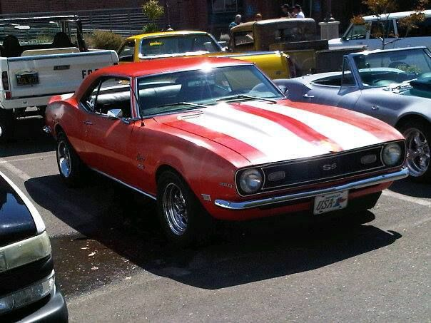 '68 Camaro SS | American Muscle Cars | Pinterest