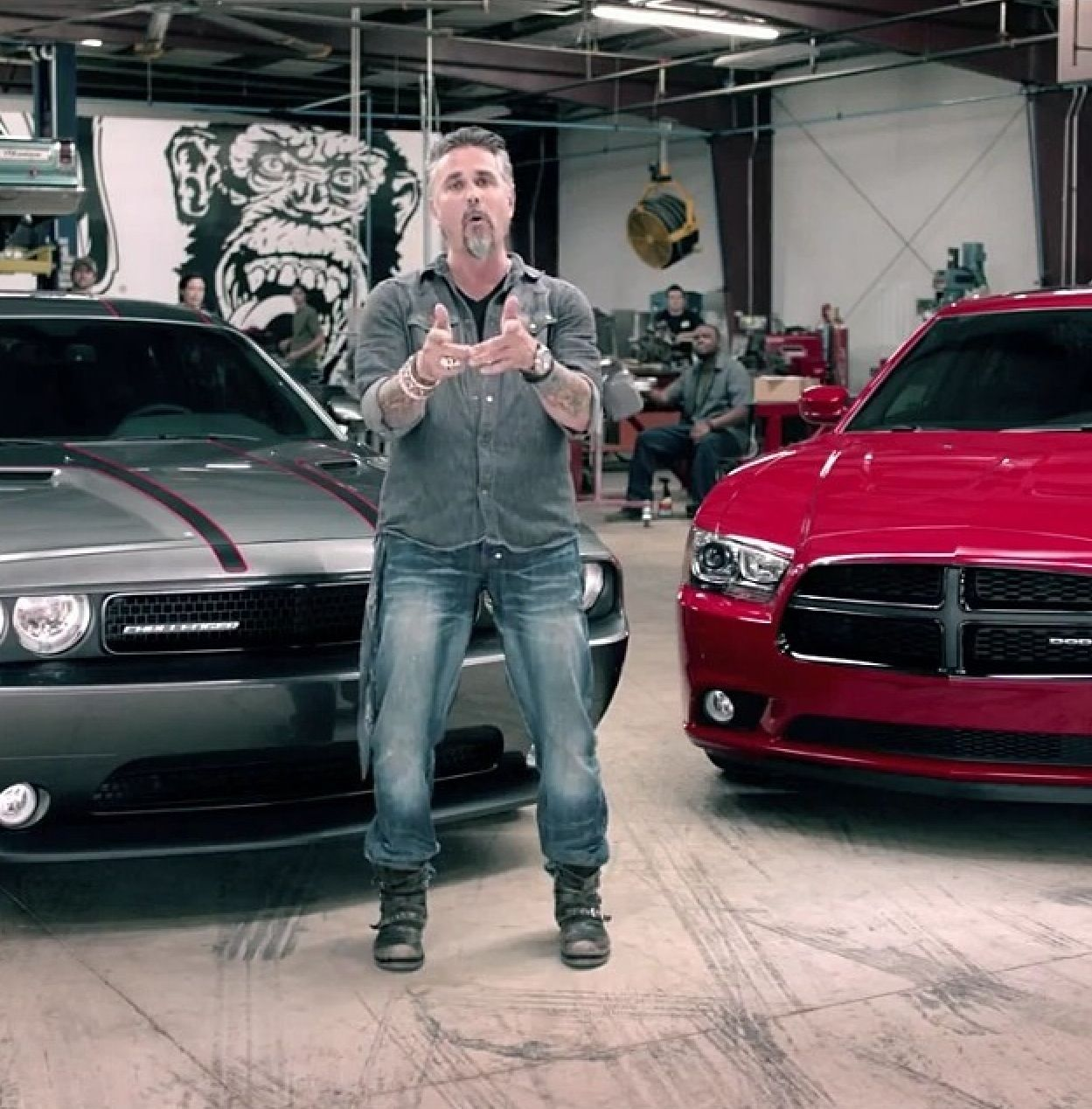 Gas Monkey Garage Richard Rawlings | Texas Hottie, Richard Rawlings