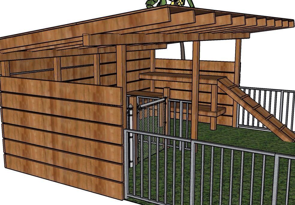 Photo Goat Housing Plans Images