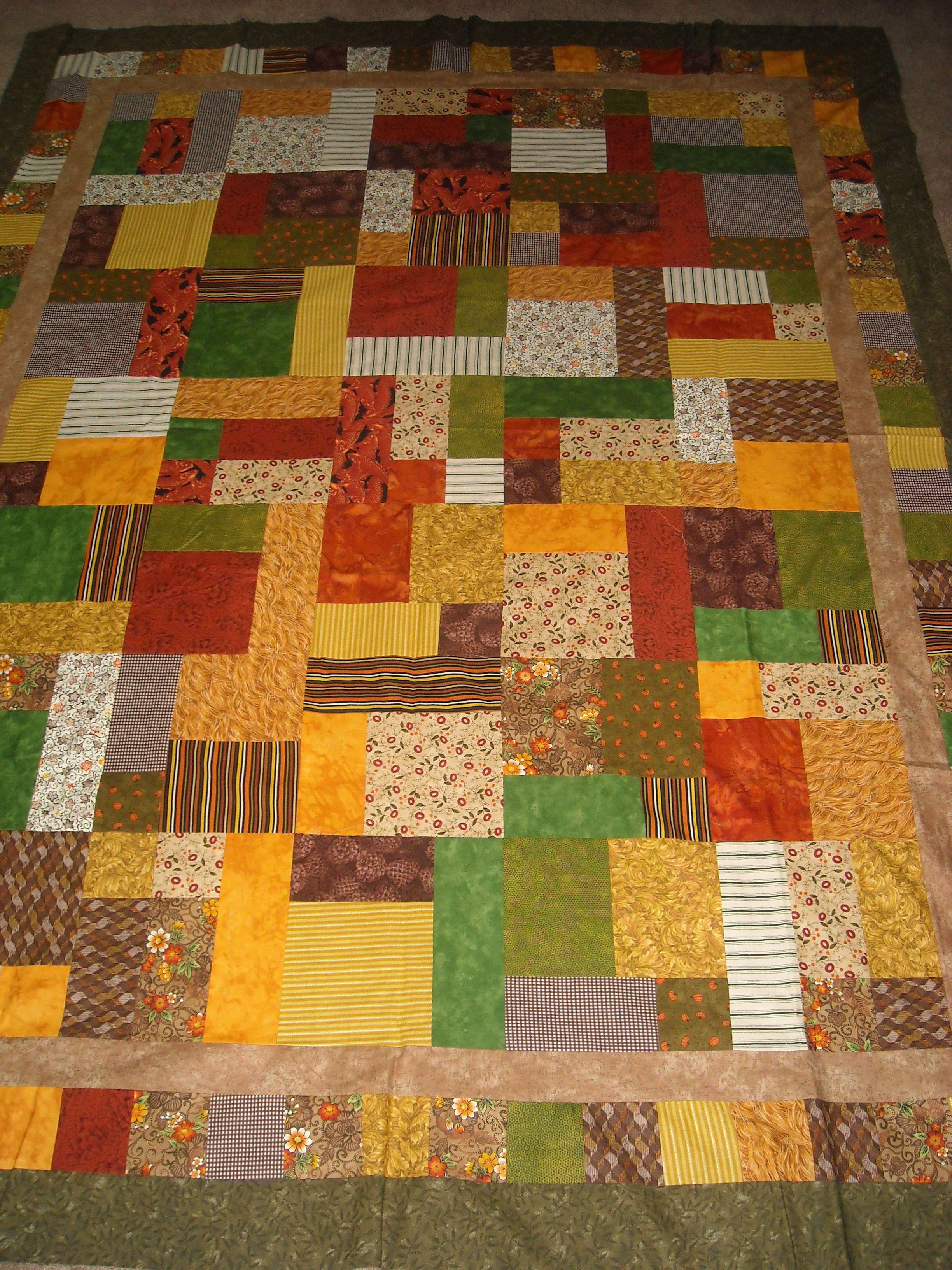 Yellow Brick Road Quilt Pattern Quilt N Sew Pinterest