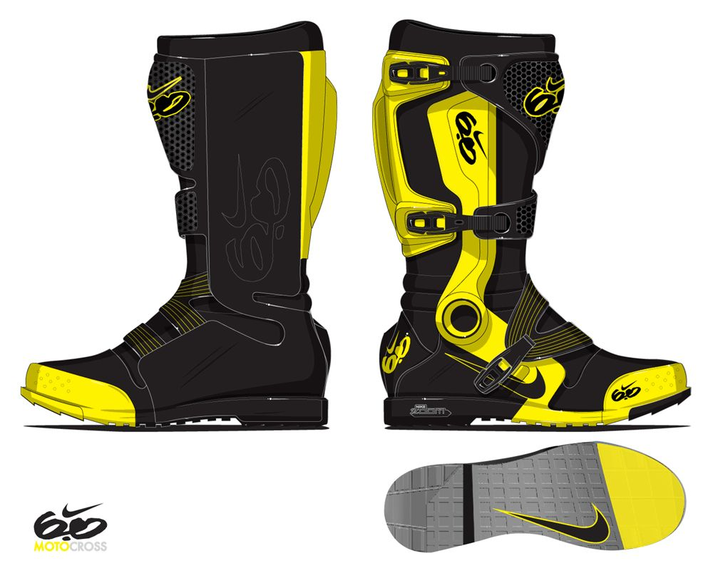Nike Motocross Boots Kicks Pinterest