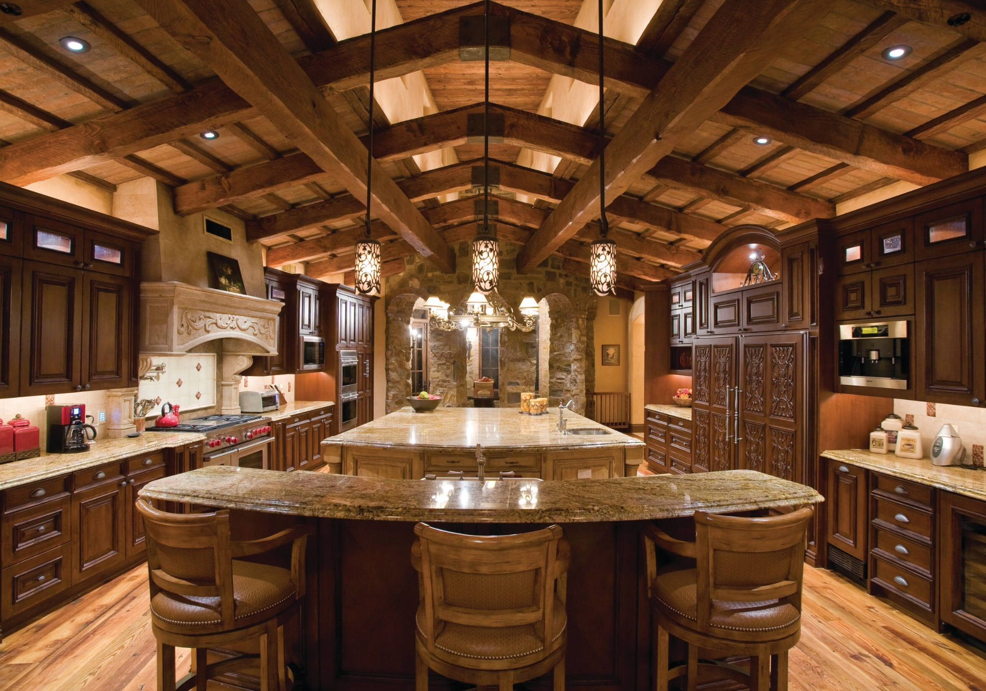Big kitchen dream kitchen pinterest for Beautiful kitchen remodels