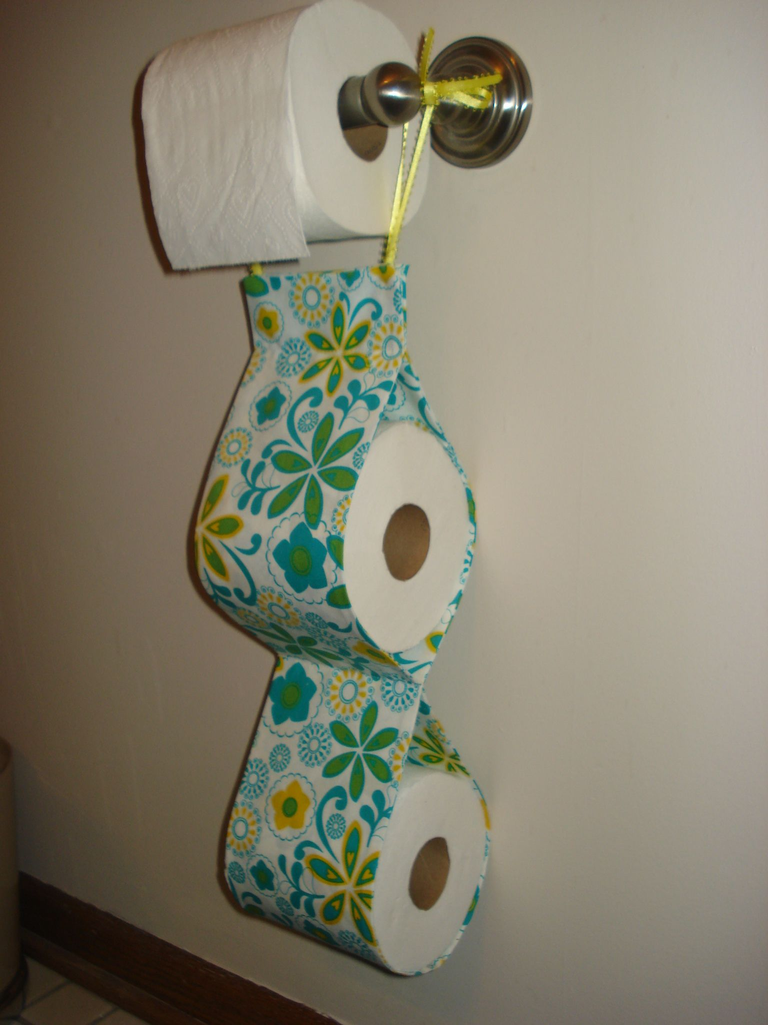 Extra Toilet Paper Roll Holder Sewing Projects Ideas