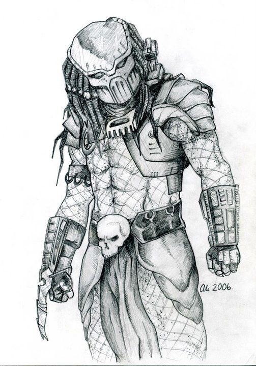 Predator рисунки