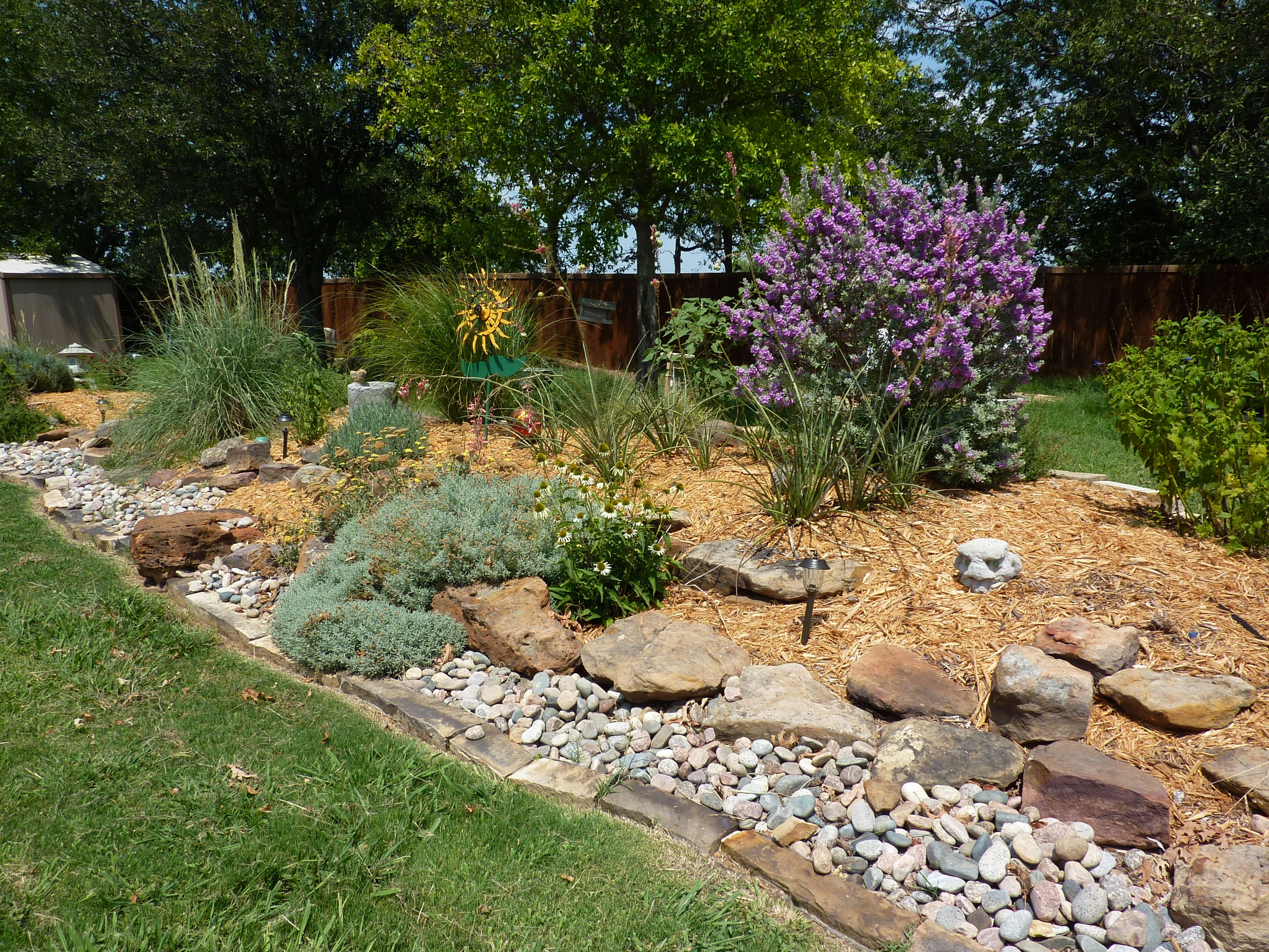 berm dividing the yard into areas yard ideas pinterest