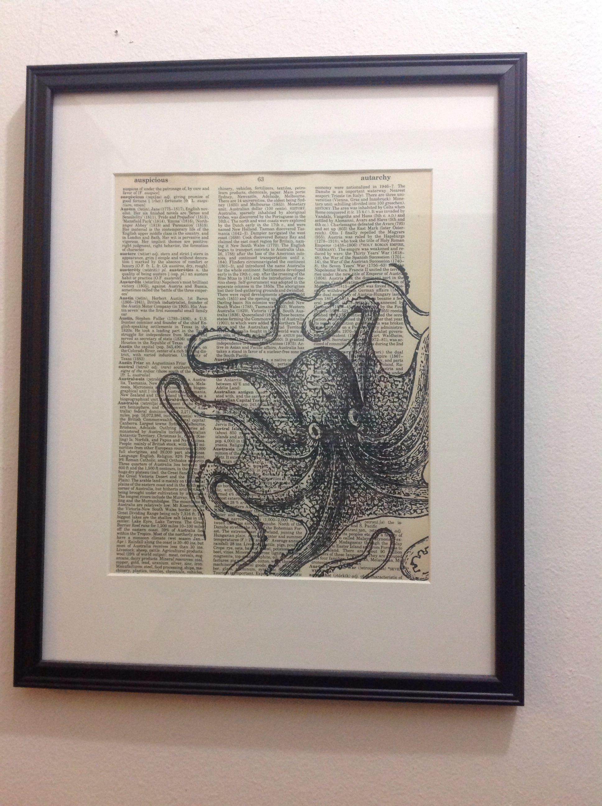 Octopus themed bathroom apartment pinterest