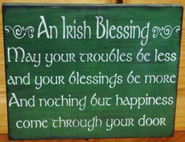 Funny Wedding Gifts Ireland : Irish Blessings And Quotes. QuotesGram