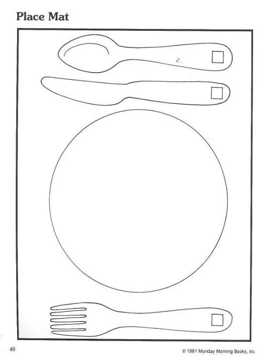 Draw A Plate Full Of Colors Here Is Printable Template Place