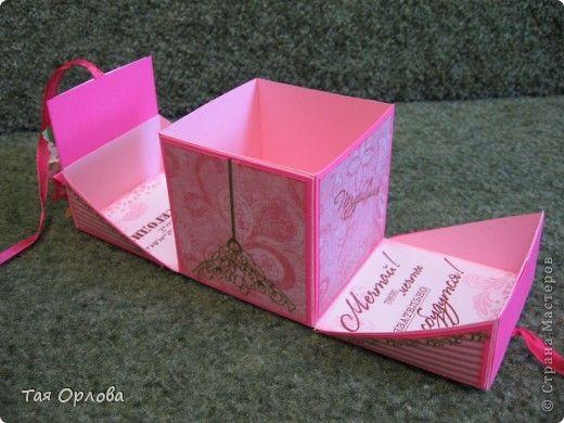 Красивые коробочки своими руками на