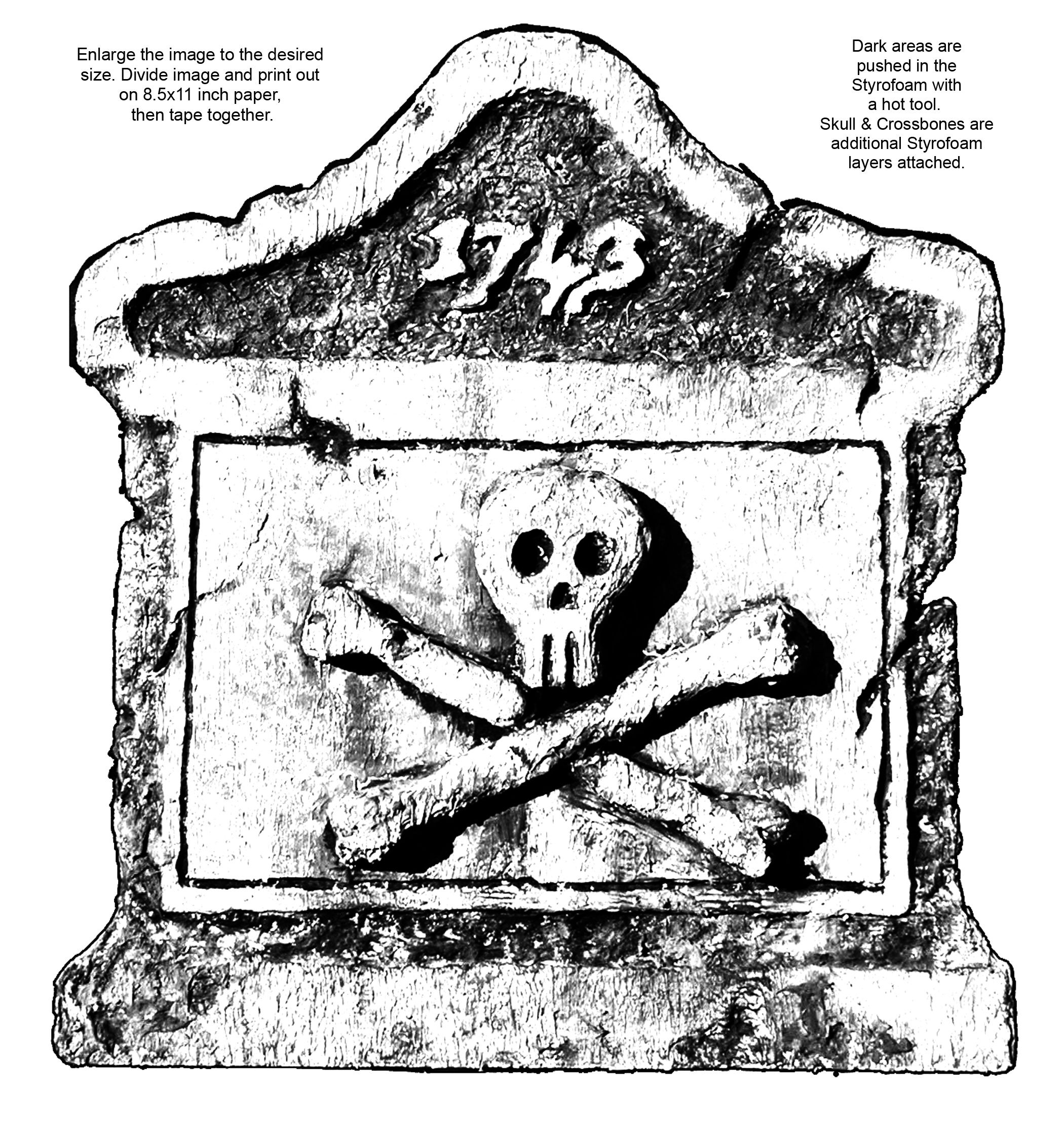 Tombstone printable halloween pinterest for Tombstone templates for halloween