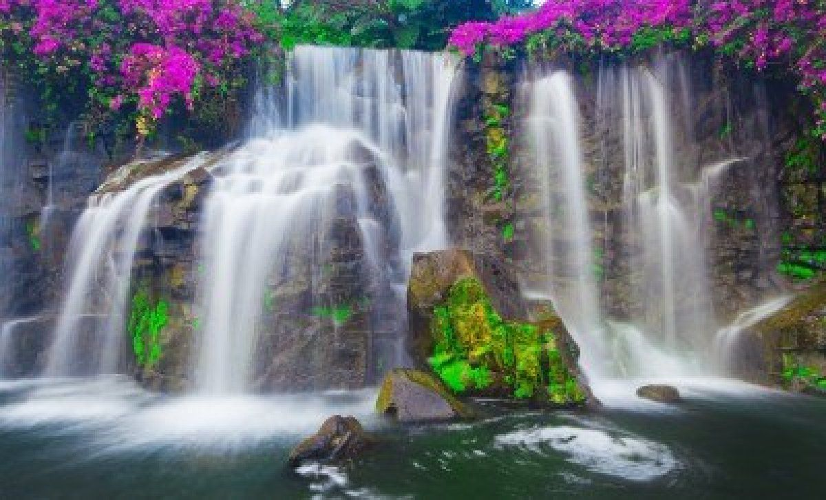 Waterfall In Hawaii Enchanted Places Pinterest