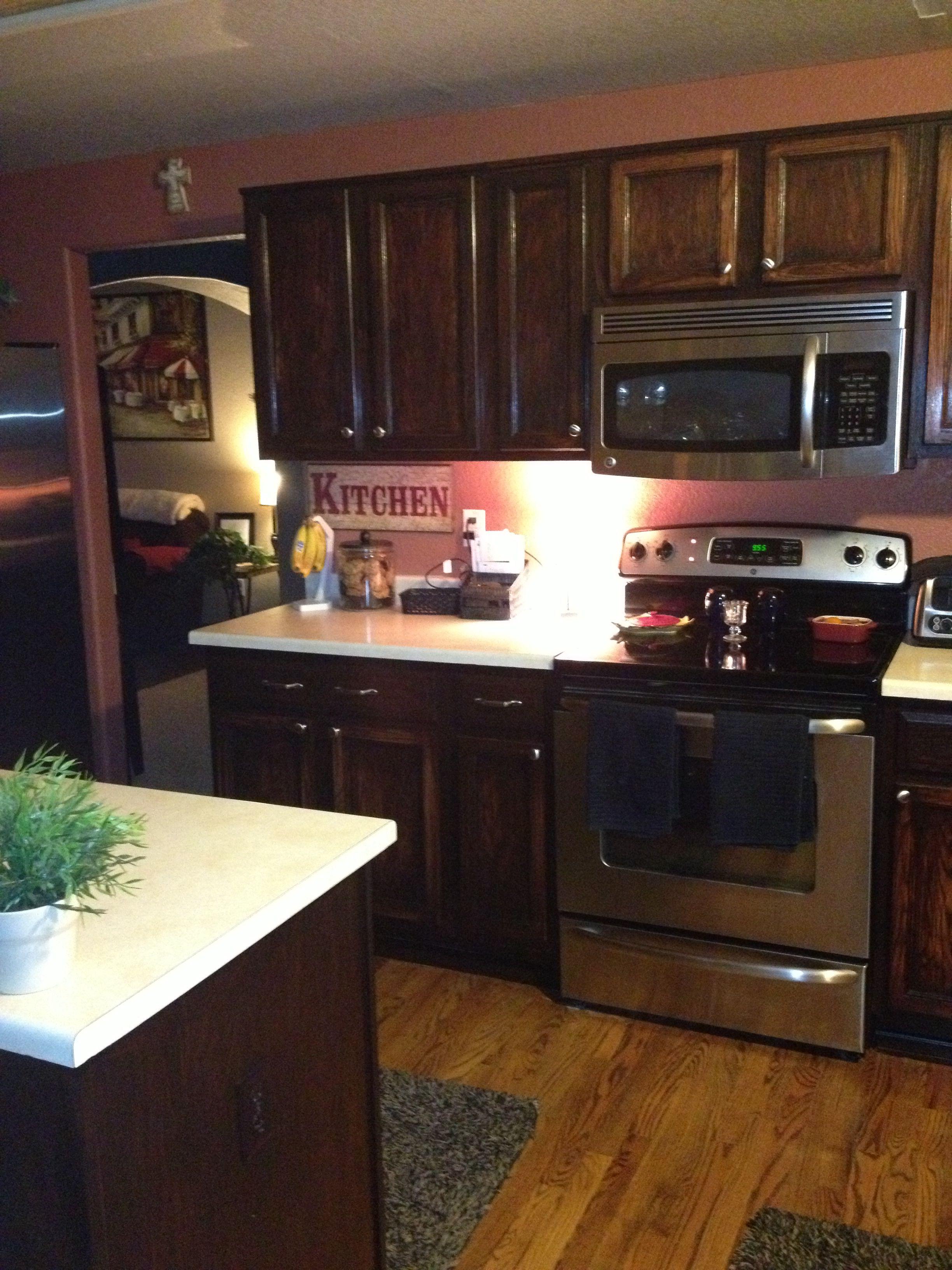 Gel Staining Kitchen Cabinets Custom Inspiration Design