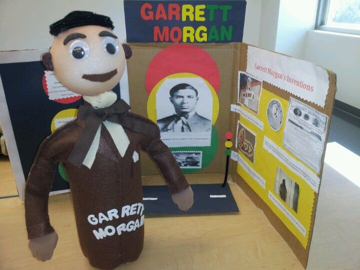 Garrett Morgan | Coke Bottle Characters | Pinterest