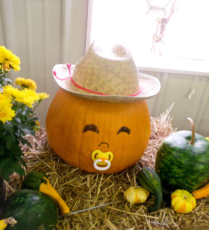 cute baby pumpkin shower idea baby shower ideas pinterest