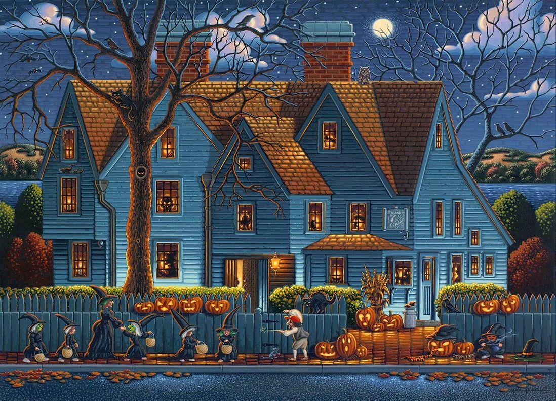 halloween house uk