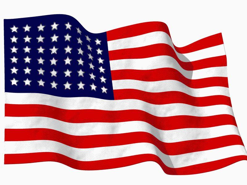 red white & blue flag