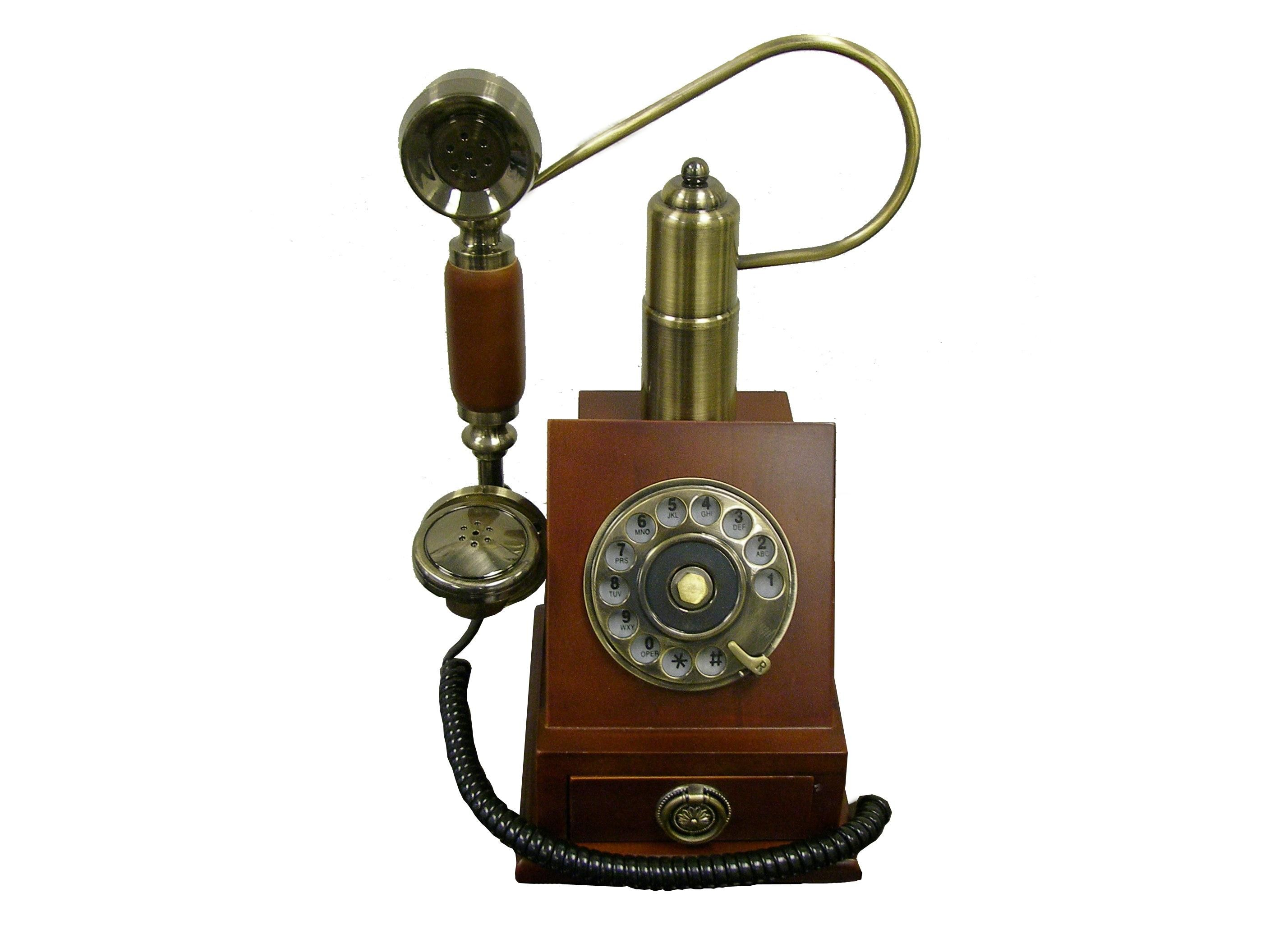 Old fashioned wall mounted telephones 40
