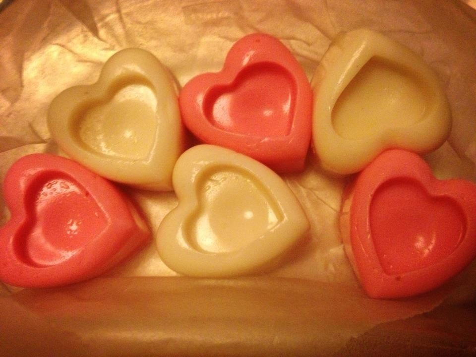 valentine's day jello hearts