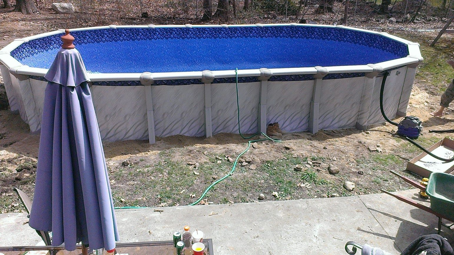 Pin by the above ground pool builder on above ground pools for Namco pools
