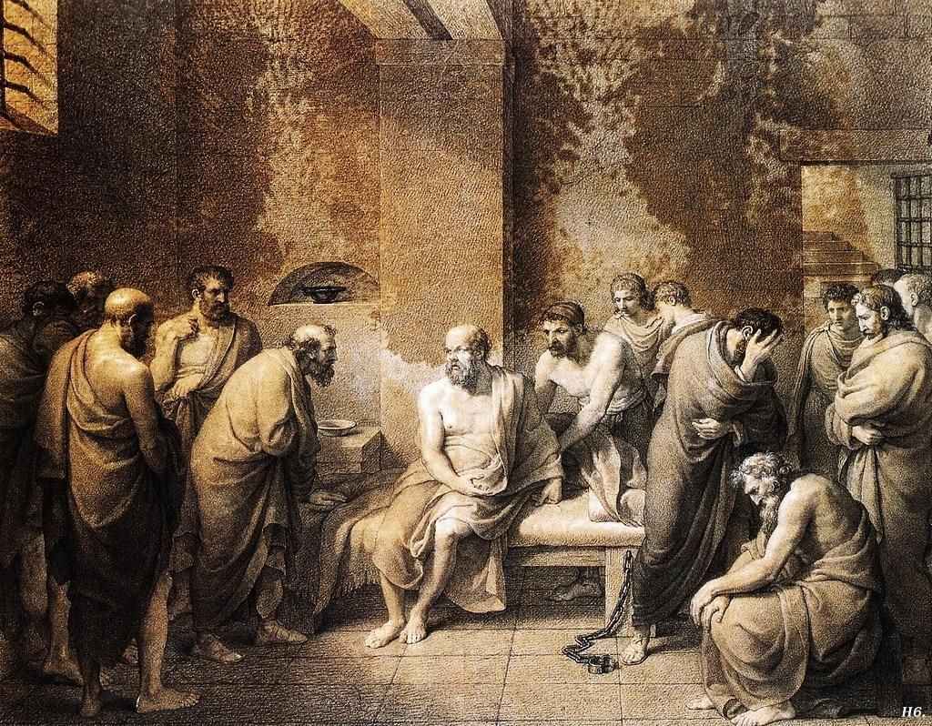 deaath of socrates The third edition of the trial and death of socrates presents g m a grube's distinguished translations, as revised by john cooper for plato, complete works.