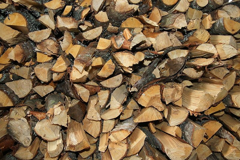 Wood Pile Inspiration Pinterest