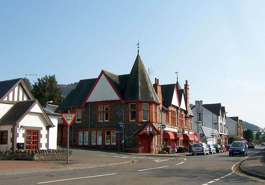Aberfoyle United Kingdom  city photos gallery : Village of Aberfoyle, Scotland | Anglophilia | Pinterest