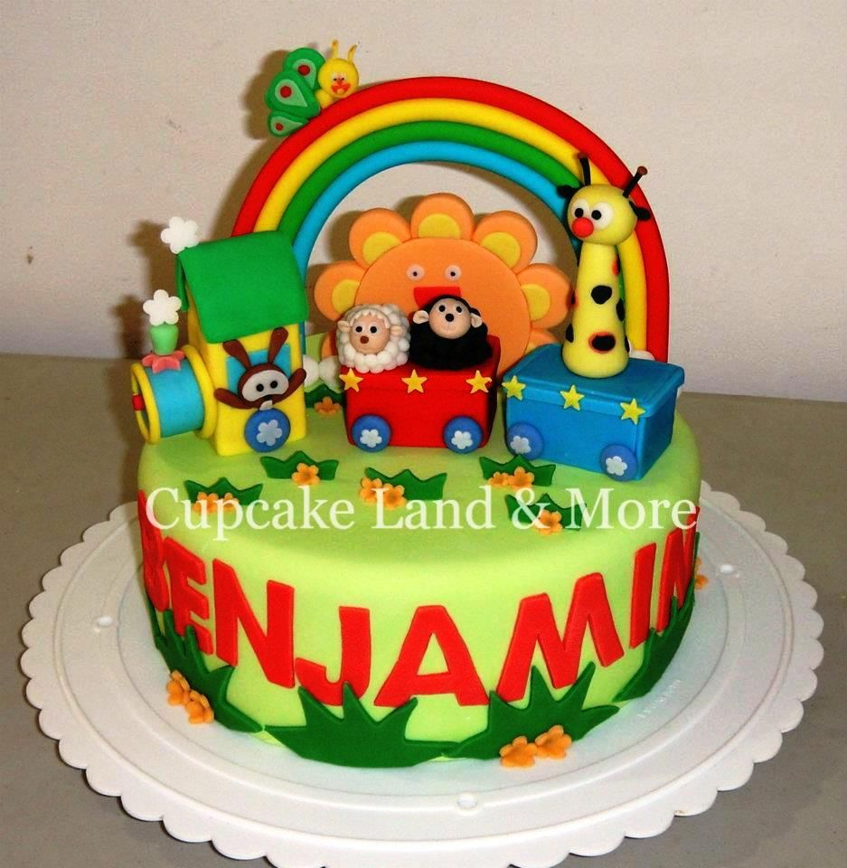 Baby tv Cake! Cake: Tulli and friends Pinterest