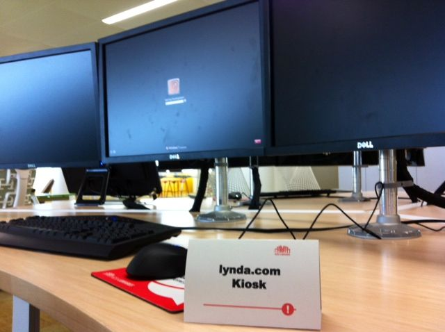 Lynda.com is available in Hunt Library on a gaming/development station (located on level 3)