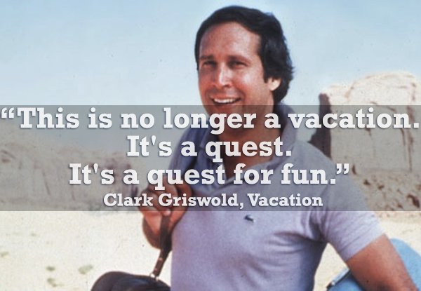 clark griswold family vacation quotes how not to make a spectacle of yourself in public part 2 the beach