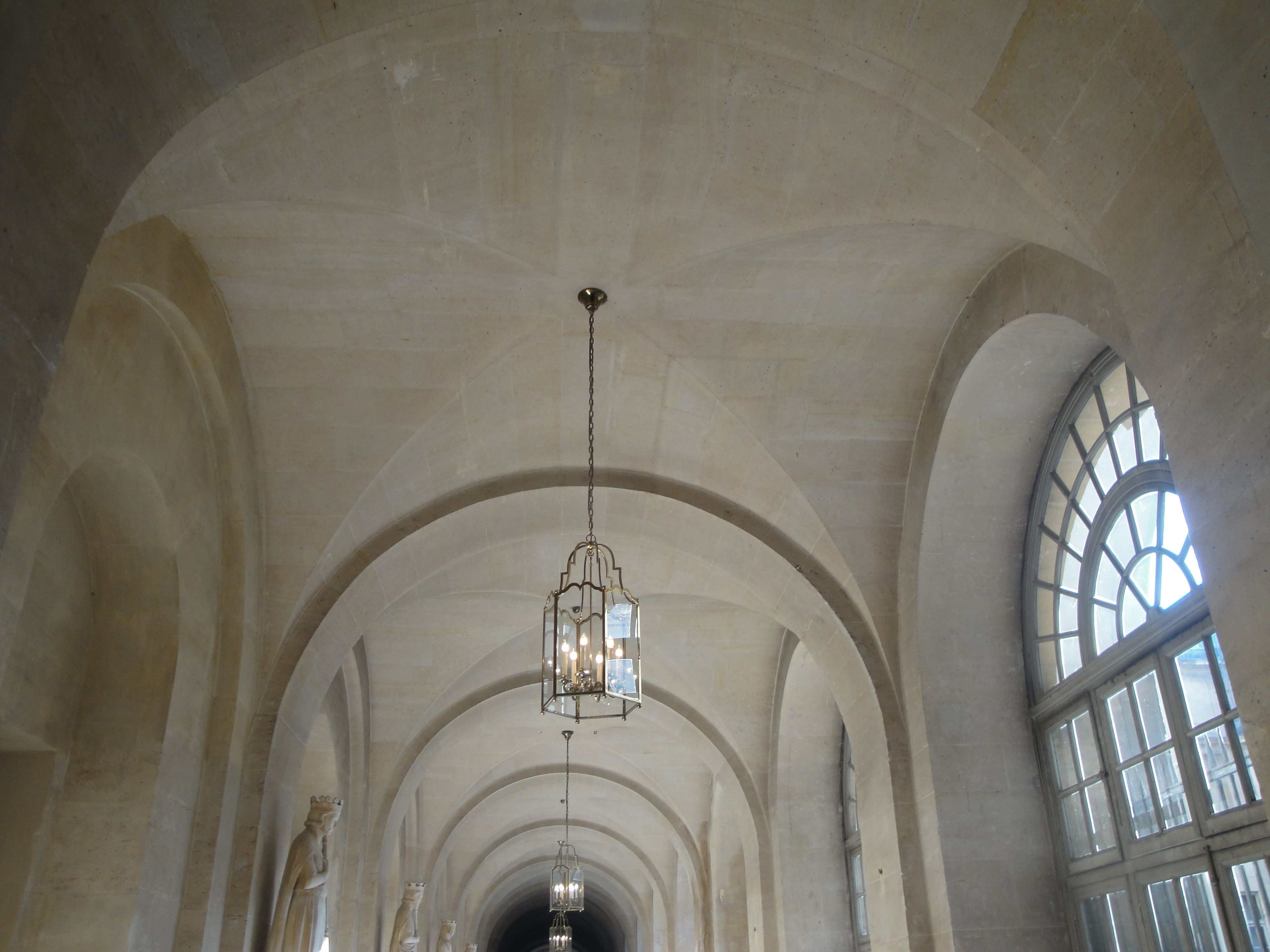 Groin vault ceiling versailles lighting pinterest for Groin vault pictures