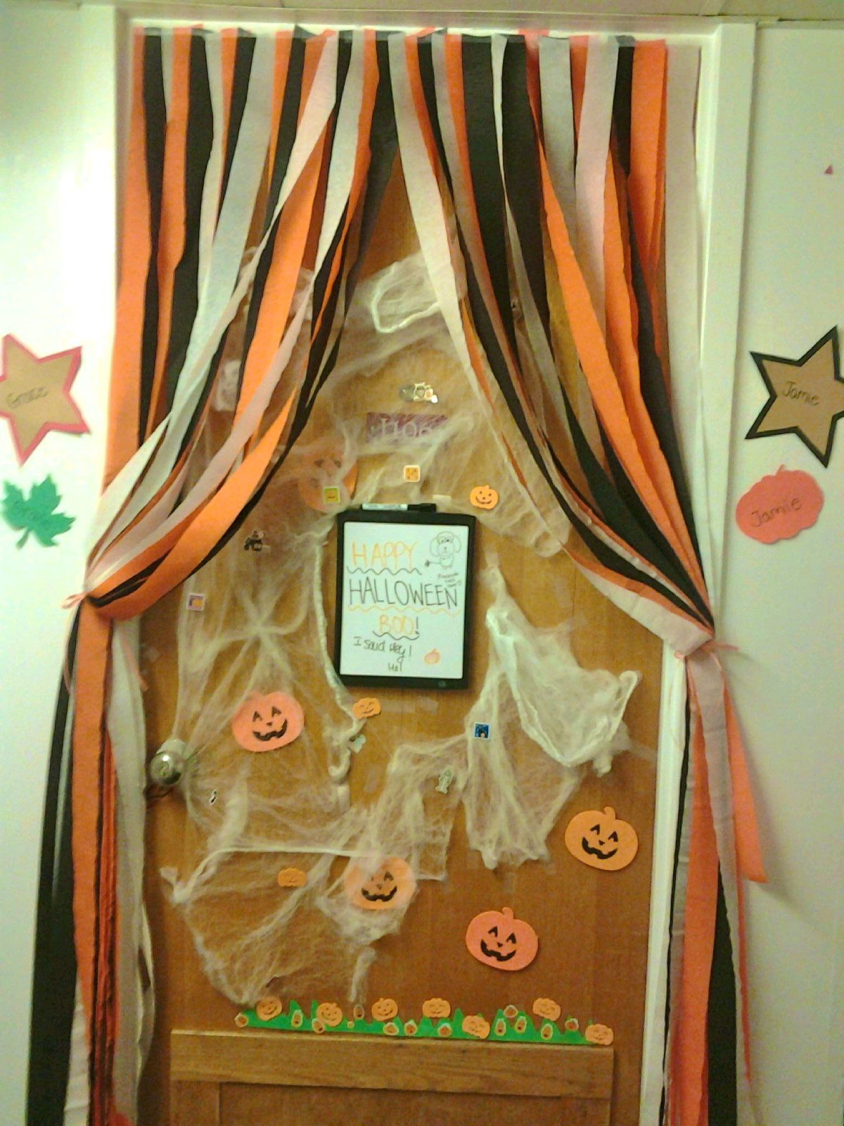 Decorating Ideas > Pin By Shann Heartwig On College  Pinterest ~ 003601_Halloween Door Ideas Contest