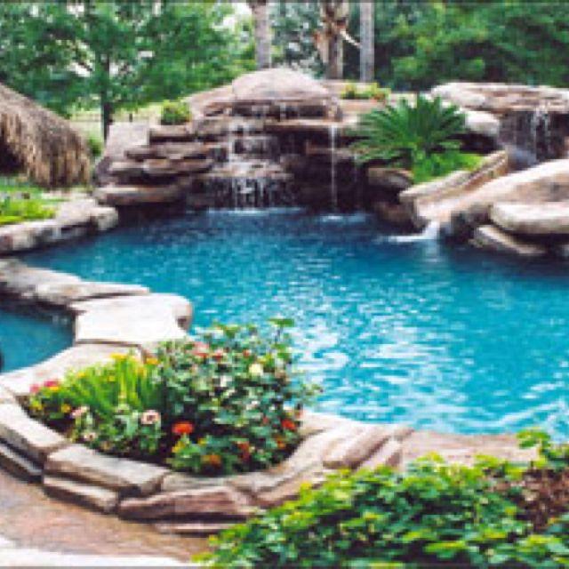 Salt water pool outdoor inspirations pinterest for Salt water pool