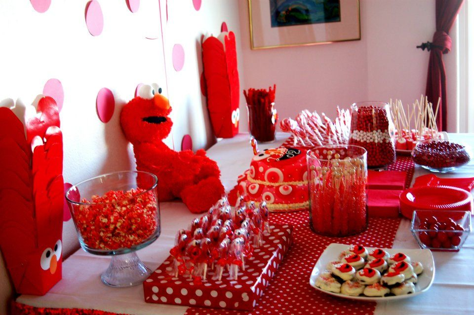 Lilys Elmo themed 2nd Birthday Party!  Kids Parties - Sesame Street ...
