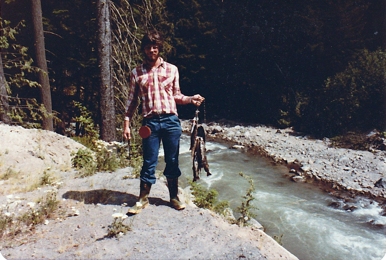 1977 fishing east fork of hood river fishing adventures for Hood river fishing