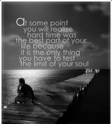 we all learn during hard times inspirational pinterest